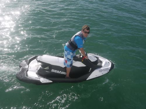One of the Jet Skis