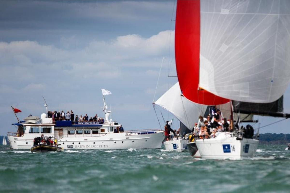 Seafin as a Spectator Boat